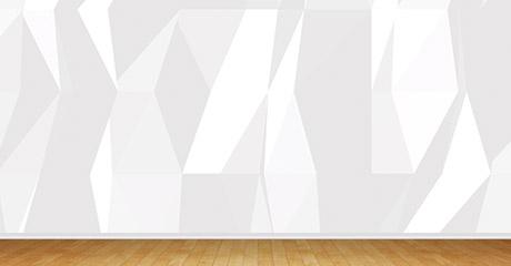 Black / White Polygon